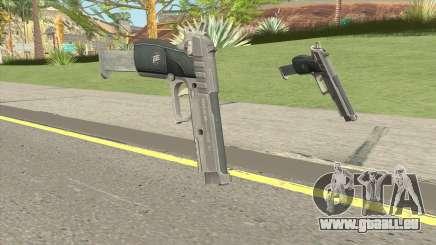 Hawk And Little Pistol GTA V Black (Old Gen) V2 für GTA San Andreas