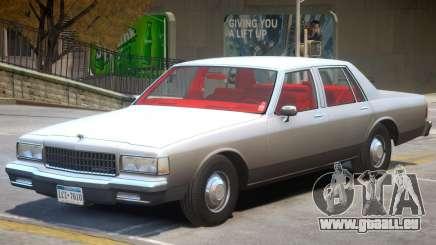 1989 Chevrolet Caprice V2 pour GTA 4