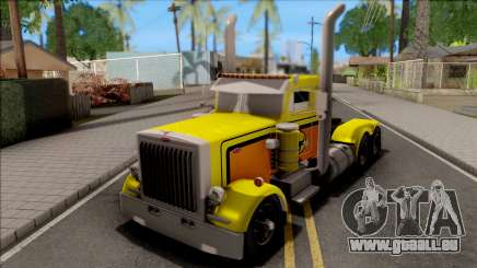 Peterbilt 379 Livingston Truck Convoy pour GTA San Andreas