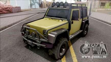 GTA V Canis Mesa Grande VehFuncs Style pour GTA San Andreas