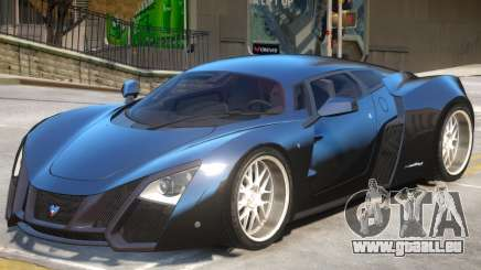 Marussia B2 V1 pour GTA 4