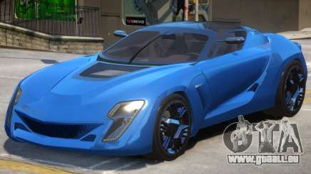 Bertone Mantide V1.2 pour GTA 4