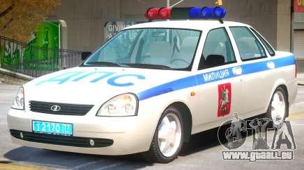 Lada Priora Police pour GTA 4