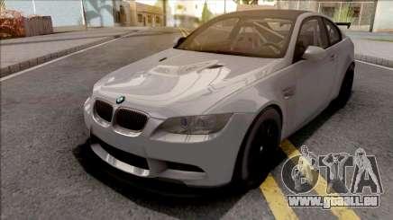 BMW M3 GTS 2010 Grey pour GTA San Andreas