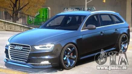 Audi RS4 Avant Sky für GTA 4