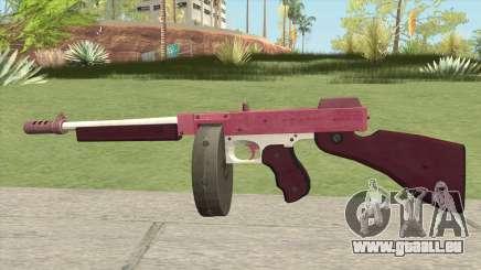 Edinburgh Gusenburg Sweeper GTA V (Pink) V1 für GTA San Andreas