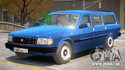 GAZ 31022 R2 pour GTA 4