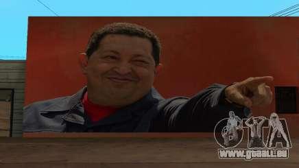 Hugo Chavez Wand für GTA San Andreas
