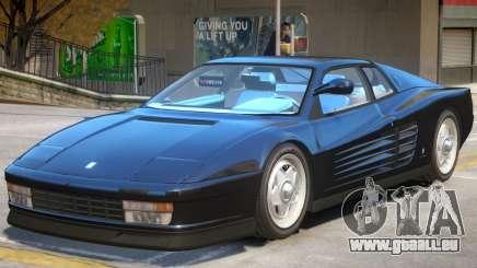 Ferrari Testarossa V1.1 pour GTA 4