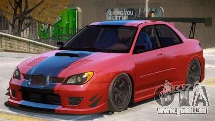 Subaru Impreza Custom pour GTA 4