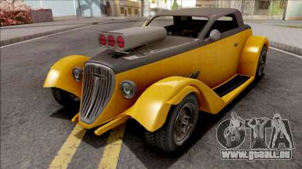 GTA V Vapid Hotknife Yellow pour GTA San Andreas