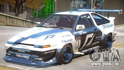 Toyota Corolla GTS pour GTA 4