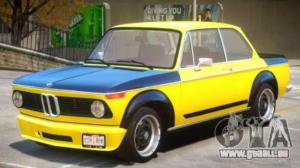 1973 BMW Turbo V1 pour GTA 4