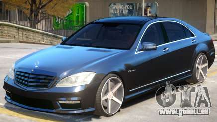 Mercedes Benz S65 Vossen pour GTA 4
