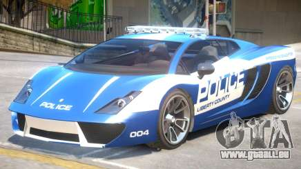 Pegassi Vacca Police V1 pour GTA 4