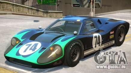 1967 Ford GT40 V1 PJ8 für GTA 4