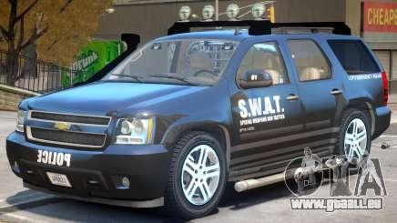 Chevrolet Tahoe V2 SWAT pour GTA 4