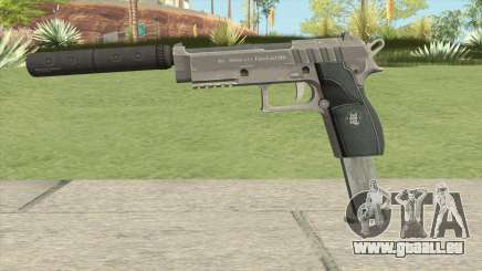 Hawk And Little Pistol GTA V Black (Old Gen) V7 pour GTA San Andreas