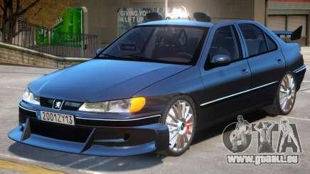 Taxi Peugeot 406 pour GTA 4