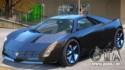Cadillac Cien V1 für GTA 4