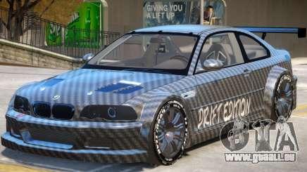 BMW M3 GTR Drift PJ1 pour GTA 4