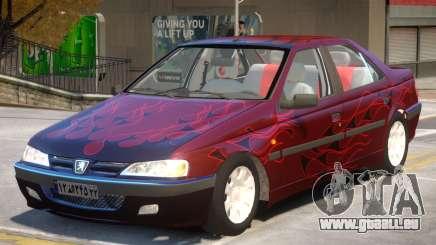 Peugeot Pars V1 PJ2 pour GTA 4