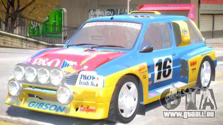 MG Metro V1 PJ für GTA 4