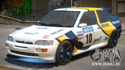 Ford Escort RS PJ4 für GTA 4