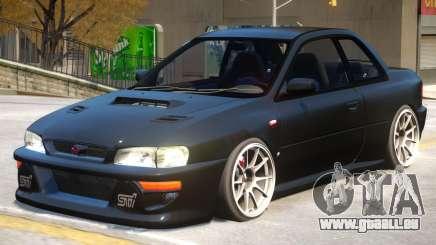 Subaru Impreza V2.1 pour GTA 4
