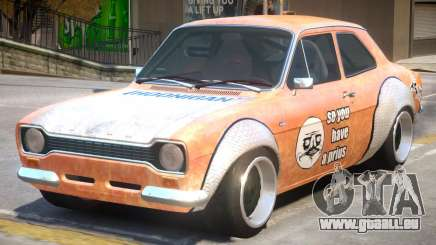 Ford Escort Rust Rod pour GTA 4