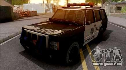 Todoterreno De La Policia pour GTA San Andreas