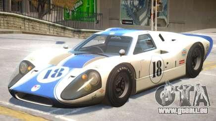1967 Ford GT40 V1 PJ4 für GTA 4