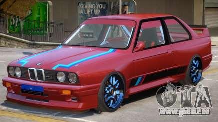 1990 BMW M3 PJ pour GTA 4