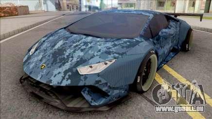 Lamborghini Huracan Performante Blue für GTA San Andreas