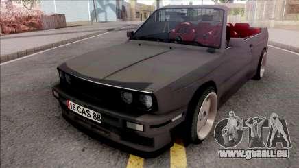BMW 3-er E30 Cabrio für GTA San Andreas