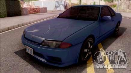 Nissan Skyline R32 Blue pour GTA San Andreas