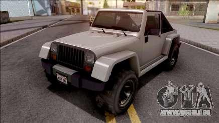 GTA V Canis Mesa Grande IVF Style pour GTA San Andreas