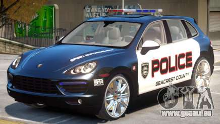 Porsche Cayenne Police pour GTA 4