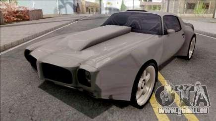 Pontiac Firebird 1970 Custom pour GTA San Andreas