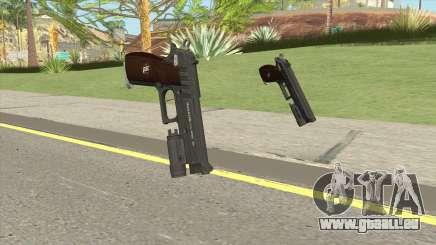 Hawk And Little Pistol GTA V Black (New Gen) V4 für GTA San Andreas