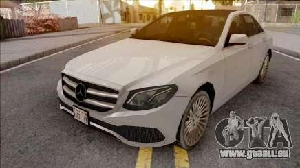 Mercedes-Benz E-Class 2017 Lowpoly für GTA San Andreas