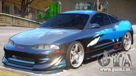 1995 Mitsubishi Eclipse GSX pour GTA 4