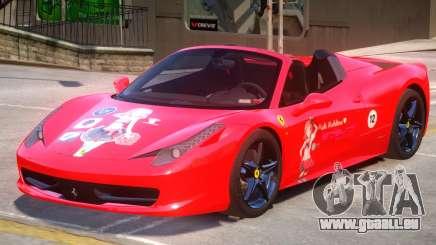 Ferrari 458 PJ pour GTA 4