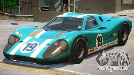 Ford GT40 PJ1 für GTA 4