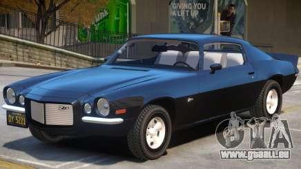 1970 Chevrolet Camaro V1 pour GTA 4