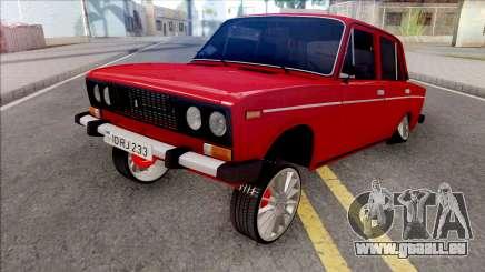 VAZ 2106 Bakili233 pour GTA San Andreas