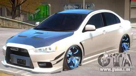 Mitsubishi Lancer Evolution X GSR pour GTA 4