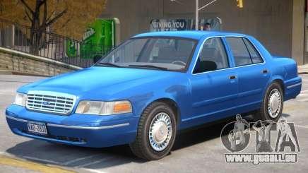 1998 Ford Crown Victoria V1 für GTA 4