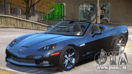 Chevrolet Corvette C6 Roadster pour GTA 4