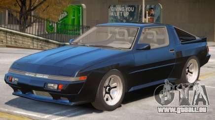 1986 Mitsubishi Starion V1 pour GTA 4